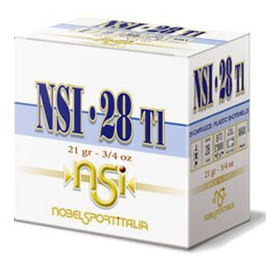 "NobleSport Max Dram 28 ga 2-3/4"" #8 Shot 3/4oz 25 Rnd Box"