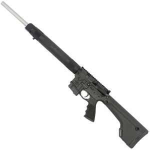 """Stag Arms STAG-15 Super Varminter Left Hand Semi Auto Rifle 6.8 SPC II 20.77"""" Stainless Steel Heavy Barrel 10 Rounds Hogue Free Float Handguard Magpul Fixed Rifle Stock Black"""