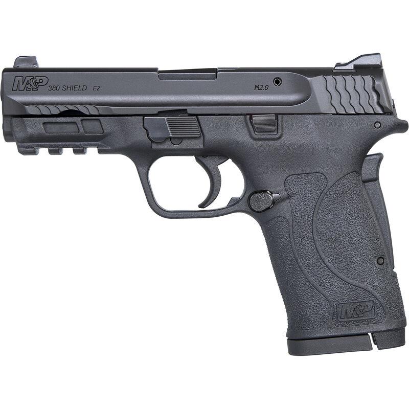 "S&W M&P380 Shield EZ Semi-Auto .380 ACP Pistol 3.675"" Barrel 8 Rounds No Manual Safety Black"