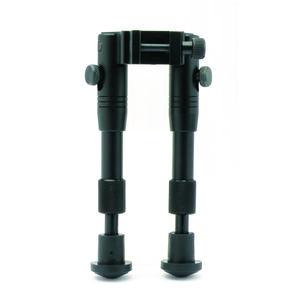 """SME Bi-Pod 6"""" Adjustable Folding Aluminum Bipod Black"""