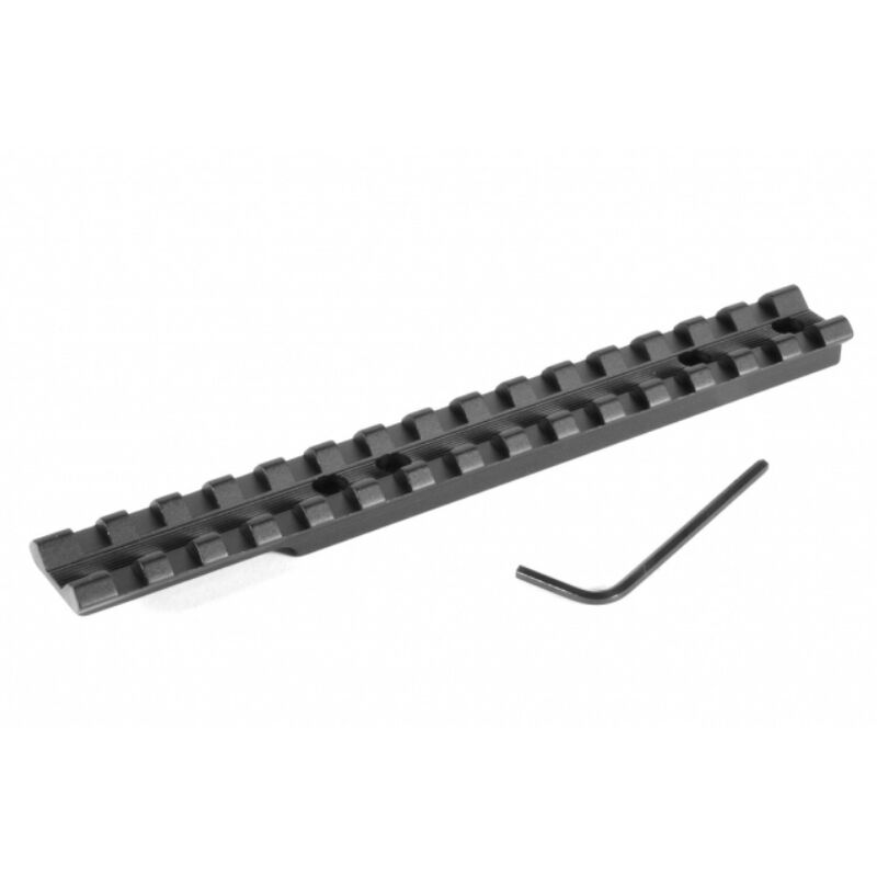 EGW Ruger 10/22 Picatinny Scope Rail Mount 20 MOA Built In Ambidextrous 6061-T6 Extruded Aluminum Matte Black Finish