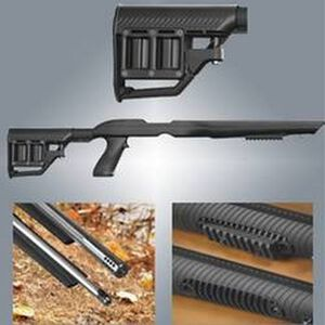 Adaptive Tactical Tac-Hammer RM4 Ruger 10/22 Rifle Stock Black