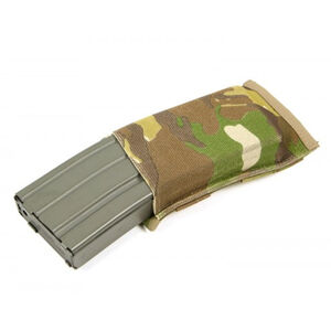 Blue Force Gear M4/AR-15 MOLLE Mounted Single Magazine Pouch Ten Speed Military Grade Elastic Multicam