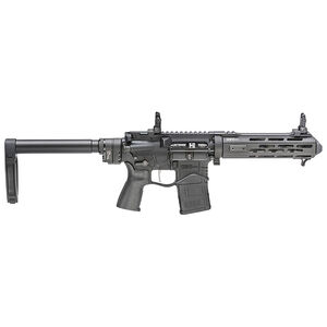 "Springfield Armory SAINT Edge EVAC 5.56 AR-15 Semi Auto Pistol 7.5"" Barrel Takedown System Folding Stock Black"