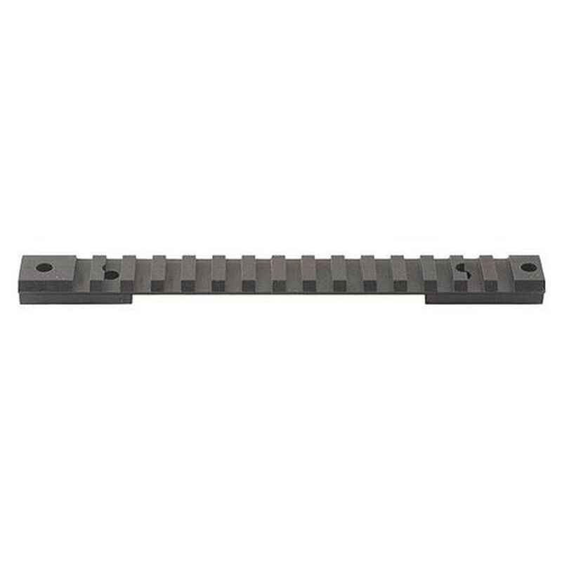 Warne Remington 700 Long Action 1 Piece Tactical Base Matte Black M674M