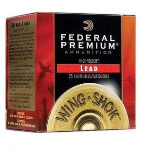 """Federal WingShok 16ga 2-3/4"""" #5 Plated 1-1/8oz 250 Rnd Case"""