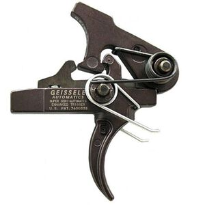 Geissele Automatics AR-15 Super Semi-Automatic Enhanced (SSA-E) Trigger 2 Stage 3.5 lb Pull Black 05-160