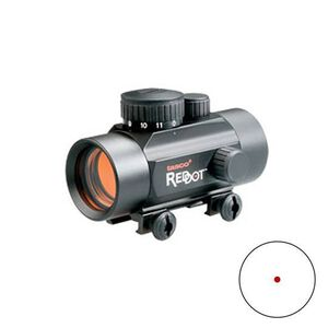Tasco 30mm Red Dot Sight Illuminated 5 MOA Reticle Black Matte BKRD3022