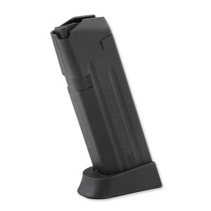 Jagemann Sporting Group GLOCK 19 Compact Size Extended Magazine 9mm Luger 15 Round Capacity Polymer Construction Matte Black Finish