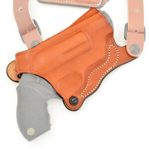 DeSantis New York Undercover S&W Governor Shoulder Holster Only Right Hand Leather Tan 11HTAV1Z0