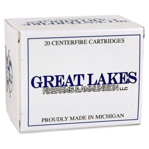 Great Lakes .44 S&W SPL 180 Grain XTP 20 Round Box
