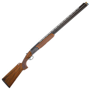 "Rizzini BR110 Sporter-X 12 Gauge O/U Break Action Shotgun 32"" Barrel 3"" Chamber 2 Rounds Bead Sight Adjustable Comb Walnut Stock Gray Cerakote Finish"
