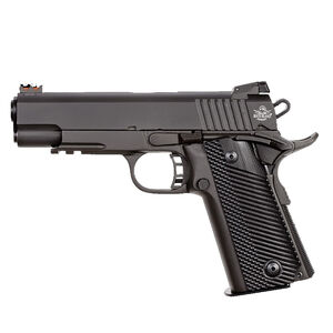 """Rock Island Armory TCM Series TCM TAC Ultra MS Combo Semi Auto Pistol .22TCM/9mm Luger 4.25"""" Barrel 17 Rounds Fixed Front/Adjustable Rear Sights G10 Grips Parkerized Finish"""