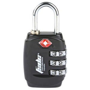 Firearm Safety Devices Corporation 3-Dial Combination Lock Steel Shackle TSA Approved