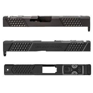 Grey Ghost Precision Glock 17 Gen 4 Slide V2 With Optics Cut Stainless Steel Black