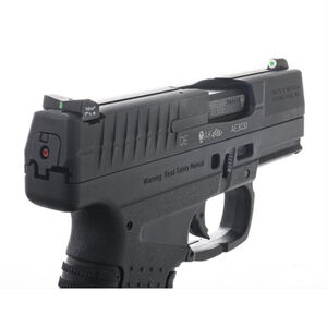 XS Sight Systems DXT Big Dot Night Sights Walther PPS/PPS M2 9/40 Green Tritium Front/ Tritium Rear Matte Black