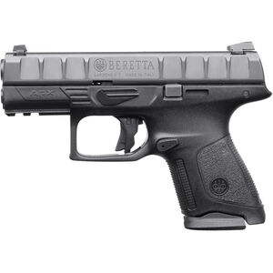"Beretta APX Compact .40 S&W Semi Auto Pistol 3.7"" Barrel 10 Rounds Polymer Frame Black"