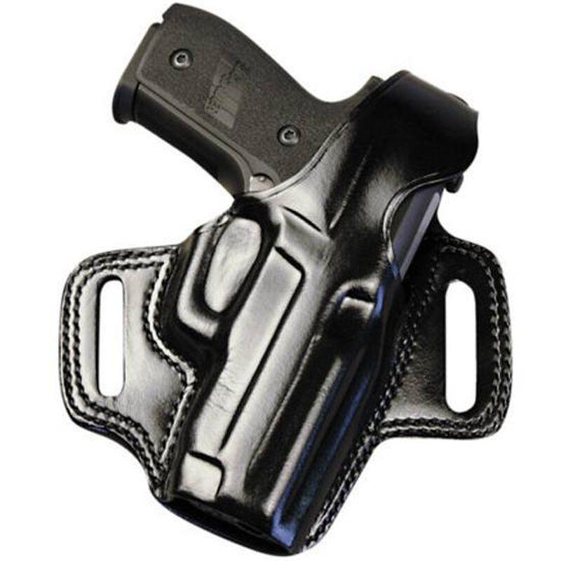 Galco FLETCH High Ride Colt Agent Belt Holster Right Hand Leather Black FL118B