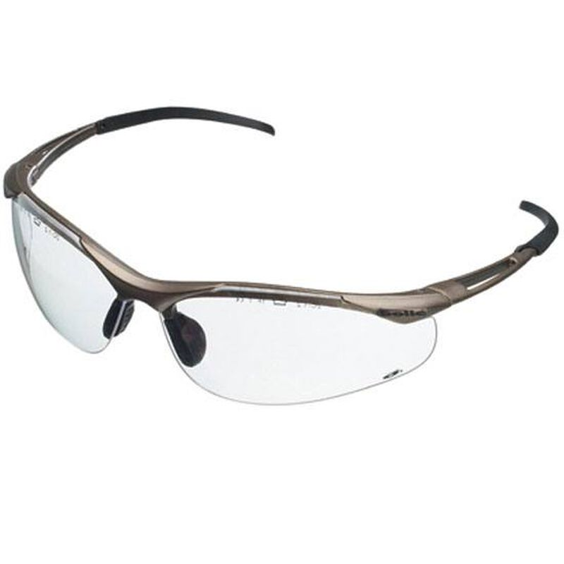 Bollé CONTOUR Safety Glasses Low Energy Impact Rated Clear Lenses Metal Frame 40044