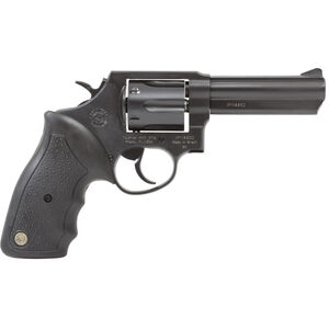 "Taurus Model 82 Double Action Revolver .38 Special +P 4"" Barrel 6 Rounds Fixed Front/Rear Sights Soft Rubber Grip Matte Black Finish"
