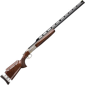 "Browning BT-99 Max High Grade Single Shot Shotgun 12 Gauge 34"" Ported Barrel 2-3/4"" Chamber 1 Round Engraved Receiver Graco Adjustable Walnut Stock Silver Nitride/Blued Finish"
