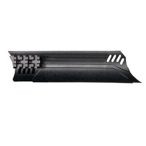 ATI Universal Tactical Shotgun Forend with Picatinny Rails Synthetic Black TSG0300