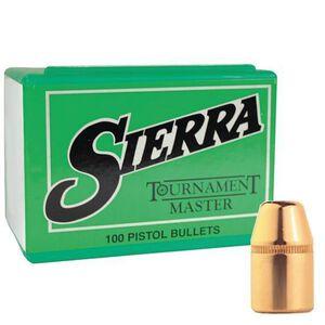 "Sierra 9mm Caliber .355"" Diameter 125 Grain Tournament Master Full Metal Jacket Pistol Bullets 100 Count 8120"