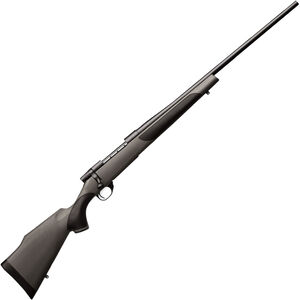 """Weatherby Vanguard Synthetic Bolt Action Rifle .300 Win Mag 3 Rounds 26"""" Barrel Synthetic Stock Matte Blued Finish"""
