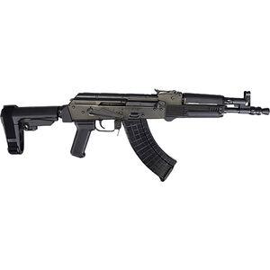"Pioneer Arms Polish Hellpup 7.62x39mm AK-47 Semi Auto Pistol 11.73"" Barrel 30 Rounds Adjustable SBA3 Pistol Brace Polymer Furniture Black Finish"