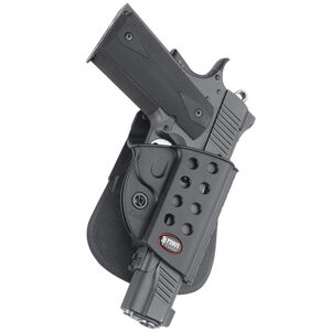 Fobus Evolution Holster 1911 Pistols/Kahr P45 Right Hand Paddle Attachment Polymer Black