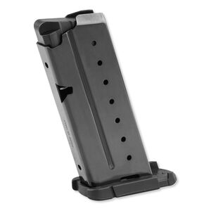 Walther PPS Magazine 9mm Luger 6 Rounds Flush Base Steel Black 2796562