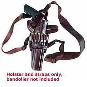 """Galco Kodiak Shoulder Holster Right Hand Havana 8.375"""" S&W 500 KK172H"""