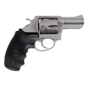 """Charter Arms Crimson Bulldog Revolver .44 Special 2.5"""" Barrel 5 Rounds Crimson Trace Lasergrip Stainless Finish 74424"""