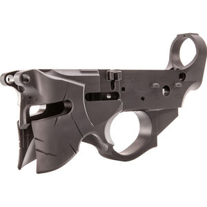 Sharps Bros. Overthrow Stripped AR-15 Lower Receiver 7075-T6 Aluminum Anodized Multi-Cal Marked Black