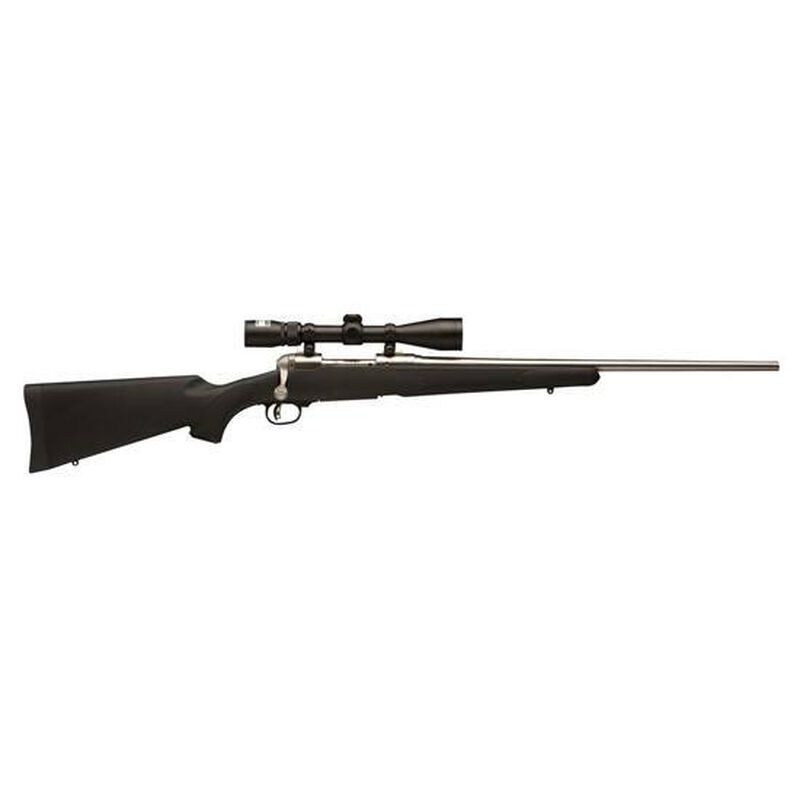 """Savage Model 16 Trophy Hunter XP Bolt Action Rifle .270 WSM 22"""" Barrel 2 Rounds Nikon 3-9x40 Scope Synthetic Stock Stainless Finish 19728"""