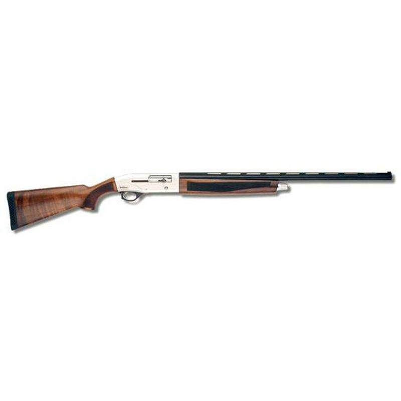 "TriStar Viper Silver Semi Auto Shotgun 28 Gauge 28"" Barrel 2 3/4"" Chamber 5 Rounds Walnut Stock Silver Receiver Blued Barrel"