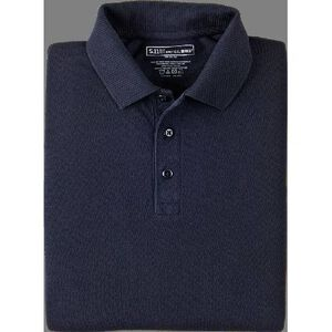 5.11 Tactical Utility Short Sleeve Polo Shirt Cotton/Polyester 2 Extra Large/Tall Dark Navy 41180T