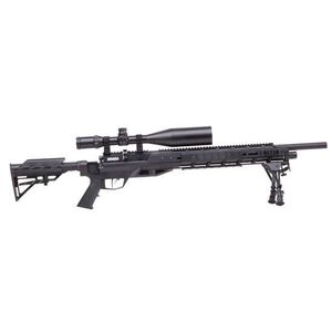 Benjamin Armada Tactical Air Rifle w/ 4-16x56 Scope & Bipod, .22 Cal, Synthetic/Steel, Black