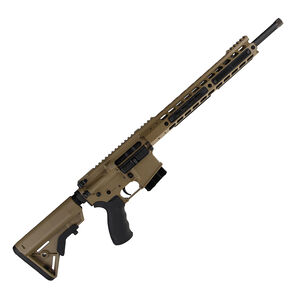"Alexander Arms Tactical 6.5 Grendel AR-15 Rifle 16"" Barrel 10 Rounds Velocity Trigger Upgrade FDE Finish RTA65DEVE"