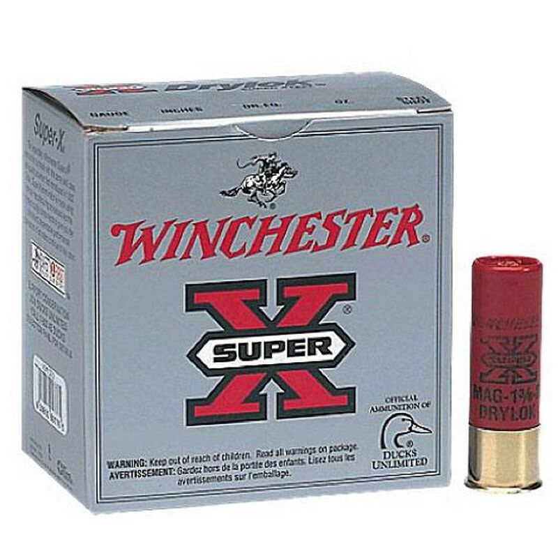 "Winchester Drylok Steel 10ga 3-1/2"" T-Shot 1-5/8oz 25 Rd Box"