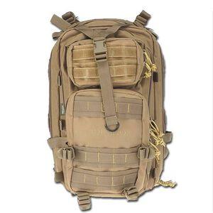 "ModGear Tracker Three Day Assault Pack Tan Drago Gear 18x10.5x5"" Three Day Assault Pack"