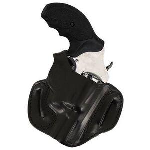 DeSantis 085 Thumb Break Mini Slide Belt Holster For GLOCK 17/19/22/23 Right Hand Leather Black 085BAE1Z0