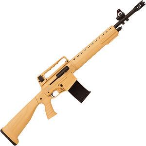 "Iver Johnson Stryker DT 12 Gauge AR Style Semi Auto Shotgun 20"" Barrel 3"" Chamber 5 Rounds Two Piece Pistol Grip Stock Desert Tan and Black Finish"