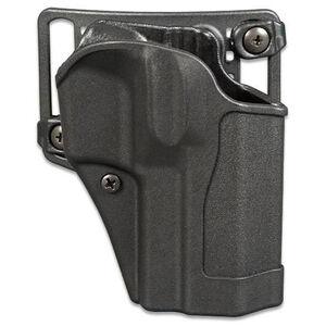 BLACKHAWK! Sportster CQC Belt/Paddle Holster SIG P220/225/226 Right Hand Polymer Black 415606BK-R