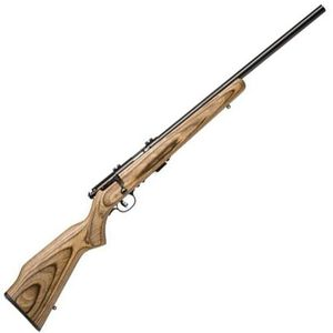 "Savage Model 93R17-BV Bolt Action Rifle .17 HMR 21"" Heavy Barrel 5 Rounds Laminate Stock Blued Finish 96734"