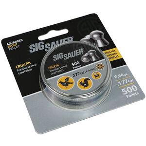 Sig Sauer CRUX Pb Air Gun Pellets .177 Caliber 8.64 Grain Lead Pellets 500 Round Tin