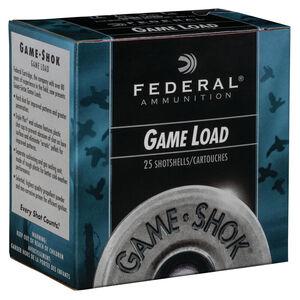"""Federal Game-Shok 12 Gauge Ammunition 2-3/4"""" Length #7.5 Lead Shot 1oz. 1290fps"""