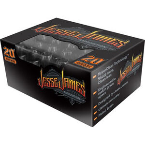 Jesse James Black Label 9mm Luger Ammunition 20 Rounds 115 Grain Hollow Point 1124fps