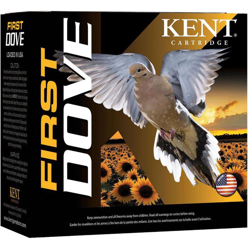 "Kent Cartridge First Dove 12 Gauge Ammunition 2-3/4"" Shell #7.5 Lead Shot 1oz 1300fps"