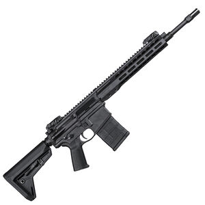 "Barrett Rec10 .308 Winchester AR Style Semi Auto Rifle 16"" Barrel Free Float Hand Guard Magpul Collapsible Stock Black Finish"